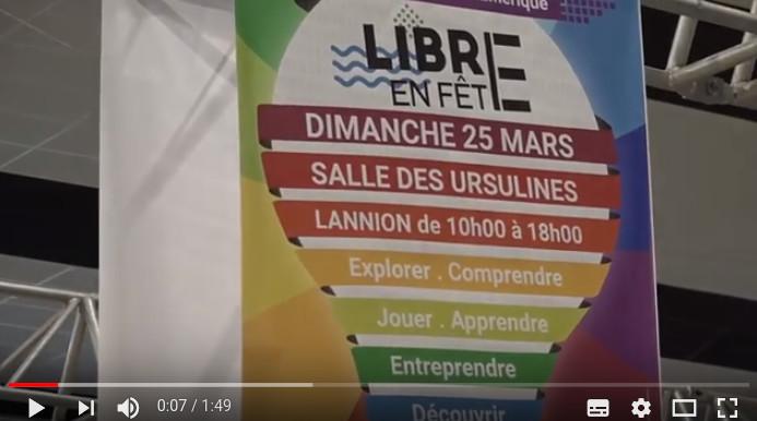 Libre en Fête en Trégor 2018 com LTC