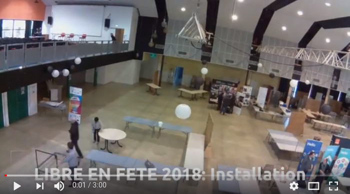 Libre en Fête en Trégor 2018 time lapse